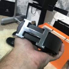 Belt Hermes H Silver