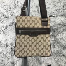 Messenger Gucci GG Supreme Flat Beige