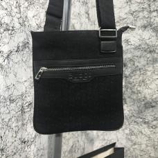 Messenger Gucci GG Supreme Flat Black