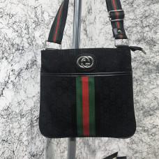 Messenger Gucci GG Supreme Marmont Black