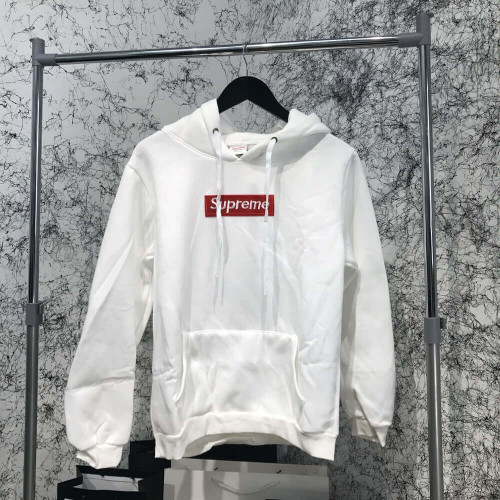 Supreme Hooded Sweater Unisex White